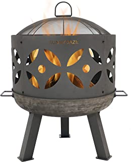 Best wood and gas fire pit Reviews