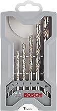 Bosch Professional 7tlg. Mini X-Line Metallbohrer Set (Metall, HSS-G, geschliffen,..