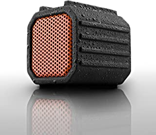 Ecoxgear Pebble 100% Waterproof IPX7 Portable Rugged Outdoor Wireless Bluetooth Speaker with Built-In Mic (Certified Refurbished)