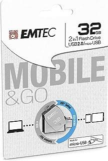 Emtec Dual USB 2.0 micro-USB T250 32GB
