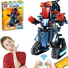 Anysun Building Blocks RC Robot, STEM Remote and APP Controlled Robot Creative Toys Educational Building Kits Intelligent ...