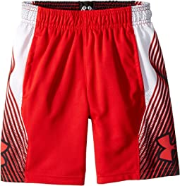 Under Armour Kids - Space The Floor Novelty Shorts (Big Kids)