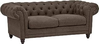 Stone & Beam Bradbury Chesterfield Tufted Loveseat Sofa Couch, 78.7