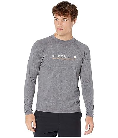 Rip Curl Shockwave Relaxed Long Sleeve UV Tee (Grey) Men