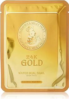 [Elizavecca] 24k gold water dew snail mask pack (25ml x 10ea)