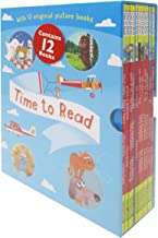 Time To Read Collection 12 Books Set (What The Ladybird Heard, A Squash and A Squeeze, Football Fever, Hamilton Hats, Room on the Broom, The Gruffalo...) Books for Early Learners Paperback by Various