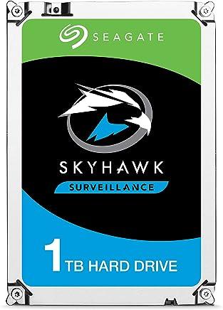 """Seagate ST1000VX005 Skyhawk 3.5"""" 1TB Sata 3.0 64MB 180Mb/s 5900Rpm 64HD Kamera 180TB/Yil Isyükü 7/24 Güvenlik Diski"""