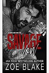 Savage Vow: A Dark Mafia Arranged Marriage Romance (Ivanov Crime Family Book 1) (English Edition) Format Kindle