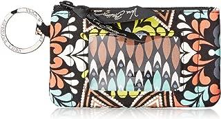 Vera Bradley Women's Signature Cotton Novelty Zip ID Case
