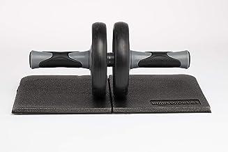 AmazonBasics Wiel Ab Abdominale Oefening Roller met Kniebeschermer