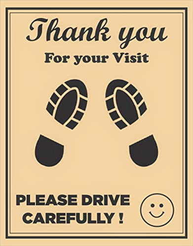 CONVRT Car Disposable Paper Foot Mat, Brown, Universal Size (Pack of 300)