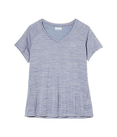 Columbia Zero Rulestm Short Sleeve Shirt (New Moon Heather) Women