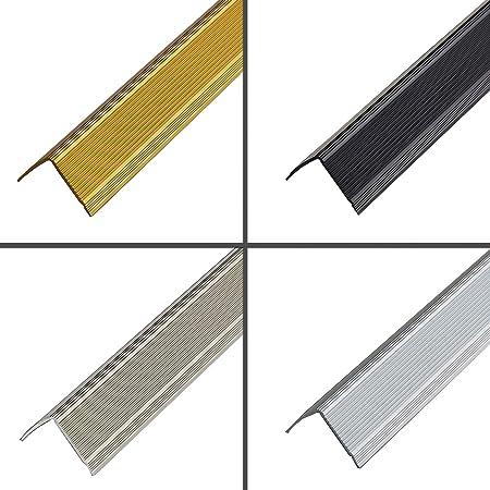 DunkelBraun PVC Treppenkantenprofil Winkelprofil Treppenkante 41x25mm 1,30m Selbstklebend