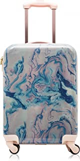 """Cosmopolitan Fashion 21"""" (with Wheels) Flight Legal Hardcase Carry-on Suitcase"""