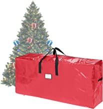 Elf Stor 83-DT5511 Premium Red Christmas Bag Holiday Extra Tall for up to 9 Ft Tree (64.5