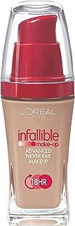 L'Oreal Paris Infallible Advanced Never Fail Makeup, Creamy Natural, 1.0 Ounces