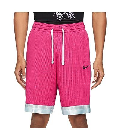 Nike Dry Elite Shorts Stripe (Fireberry/Glacier Blue/Black) Men