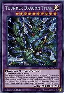 Yu-Gi-Oh! - Thunder Dragon Titan - SOFU-EN037 - Soul Fusion - 1st Edition - Secret Rare