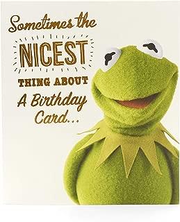 Disney Muppets Funny Birthday Card - Kermit The Frog