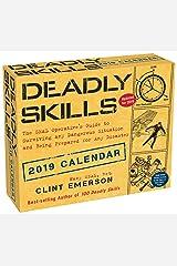 Deadly Skills 2019 Day-to-Day Calendar Calendar