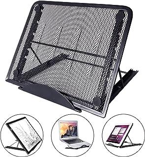 comprar comparacion LURICO Ajustable Ergonómico PC Laptop Soporte Stand, Portátil Plegable Ventilado Stand Soporte para PC/Tableta/Portátil/No...