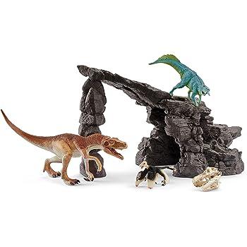 シュライヒ 恐竜 恐竜たちの洞窟プレイセット フィギュア 41461