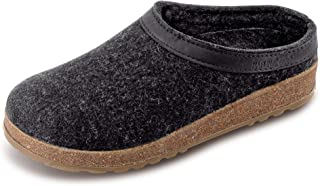 Unisex GZL Leather Trim Grizzly Clog