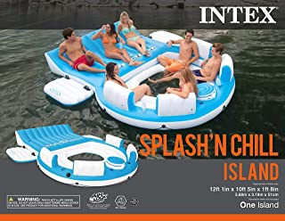Intex Splash 'N Chill, Inflatable Relaxation Island, 145