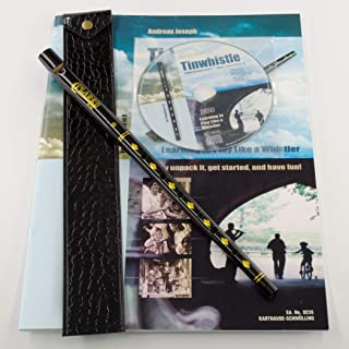 Clarke Original Tinwhistle Value Bundle with Tinwhistle, Pouch, Book and CD