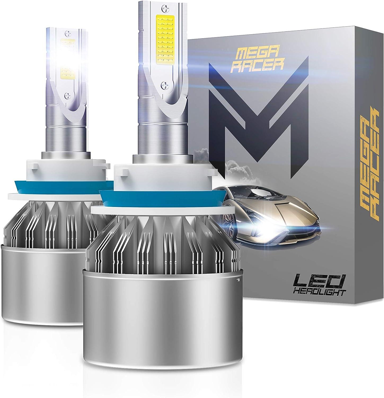 Excellent Mega Racer Super beauty product restock quality top H8 Led Fog 6000K Light Bulb Bulbs Ul