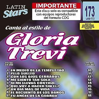 Latin Stars - Gloria Trevi (Karaoke CDG)