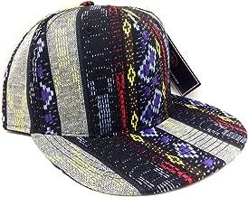 All Over Navajo Print Snapback Hat Cap Aztec #3