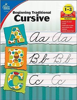 Carson Dellosa   Beginning Traditional Cursive Workbook   1st–3rd Grade, 32pgs (Learning Spot)
