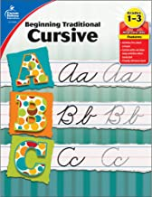 Carson Dellosa | Beginning Traditional Cursive Workbook | 1st–3rd Grade, 32pgs (Learning Spot) PDF