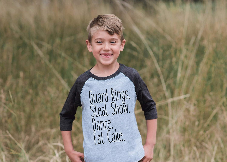 7 ate 9 Apparel Toddler Boy's Funny Ring Bearer Wedding Grey Raglan