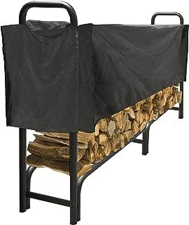 Pleasant Hearth - Premium Heavy Duty Log Rack Cover, 8 Feet, Short Cover
