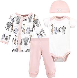 Unisex Baby Preemie Layette Set 4-Piece