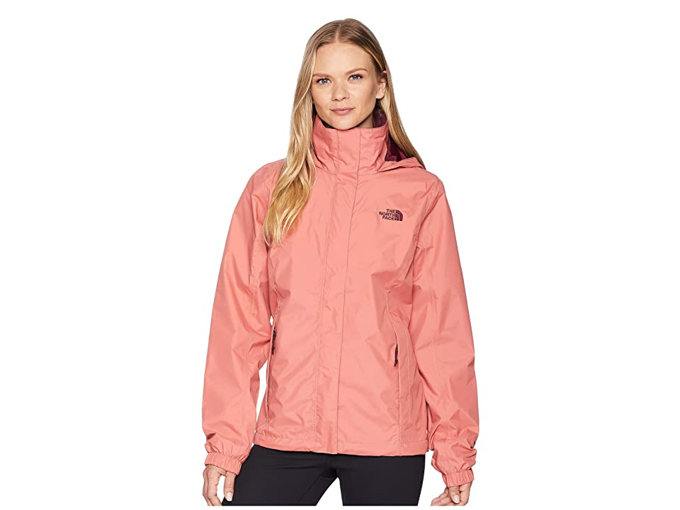 The North Face Resolve 2 Jacket (Faded Rose/Fig) Women