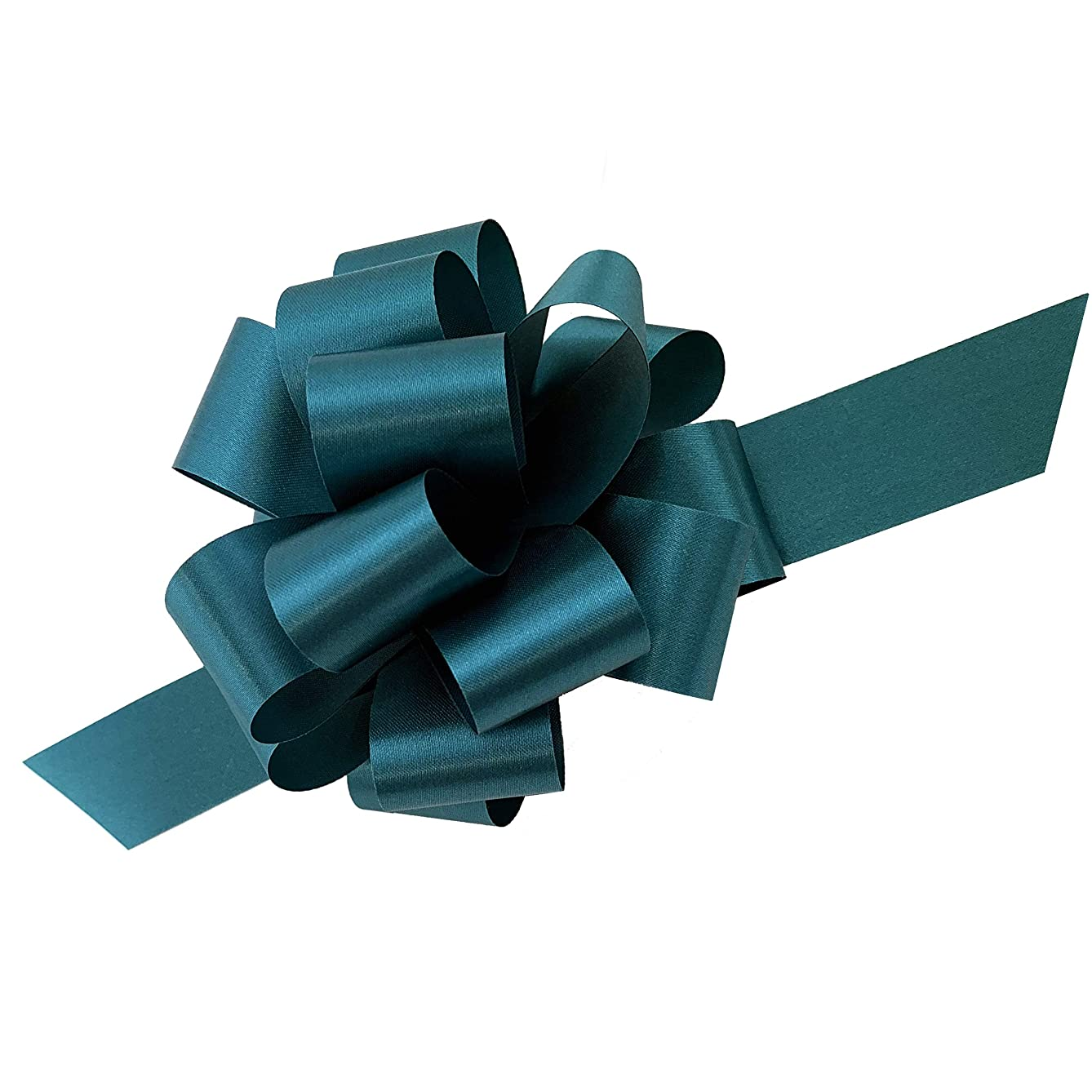 Teal Decorative Gift Pull Bows - 5
