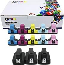 HIINK Remanufactured Ink Cartridge Replacement for HP 02 Ink Cartridges(3Black, 2Cyan, 2Magenta, 2Yellow, 2 Lt.Cyan, 2 Lt.Magenta. 13-Pack)