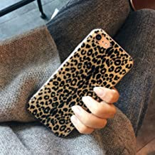 iPhone 7 Case, iPhone 8 Case, Ebetterr Glitter Sparkle Bling Case for Girls Women Slim Fit Anti Scratch PC Hard Back + Flexible Soft TPU Bumper Protective Cover for Apple iPhone 7 / iPhone 8-Leopard