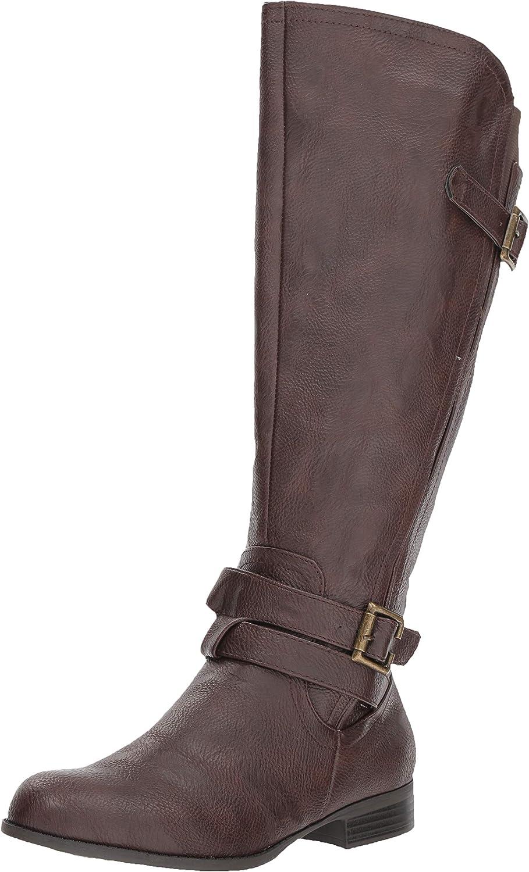 LifeStride Women's Francesca Wide Calf Tall shopping Knee High Boot Arlington Mall Shaft