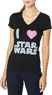 Star Wars Juniors' I Love V-Neck Graphic T-Shirt
