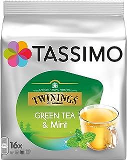 Tassimo Twinings Green Tea & Mint, Pack of 4, 4 x 16 T-Discs