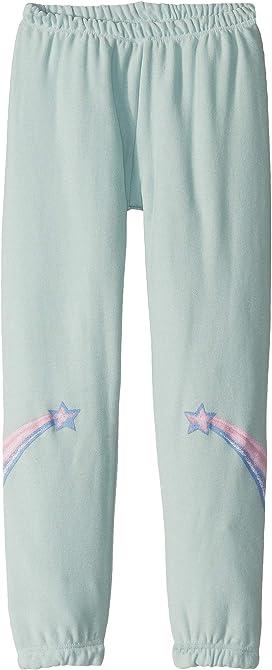 Chaser Kids Girls Hearts /& Stars Pants Cozy Knit Lounge Pants Big Kids