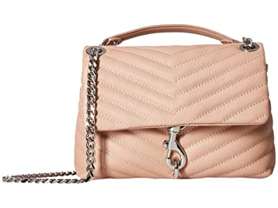 Rebecca Minkoff Edie Crossbody (Doe) Cross Body Handbags