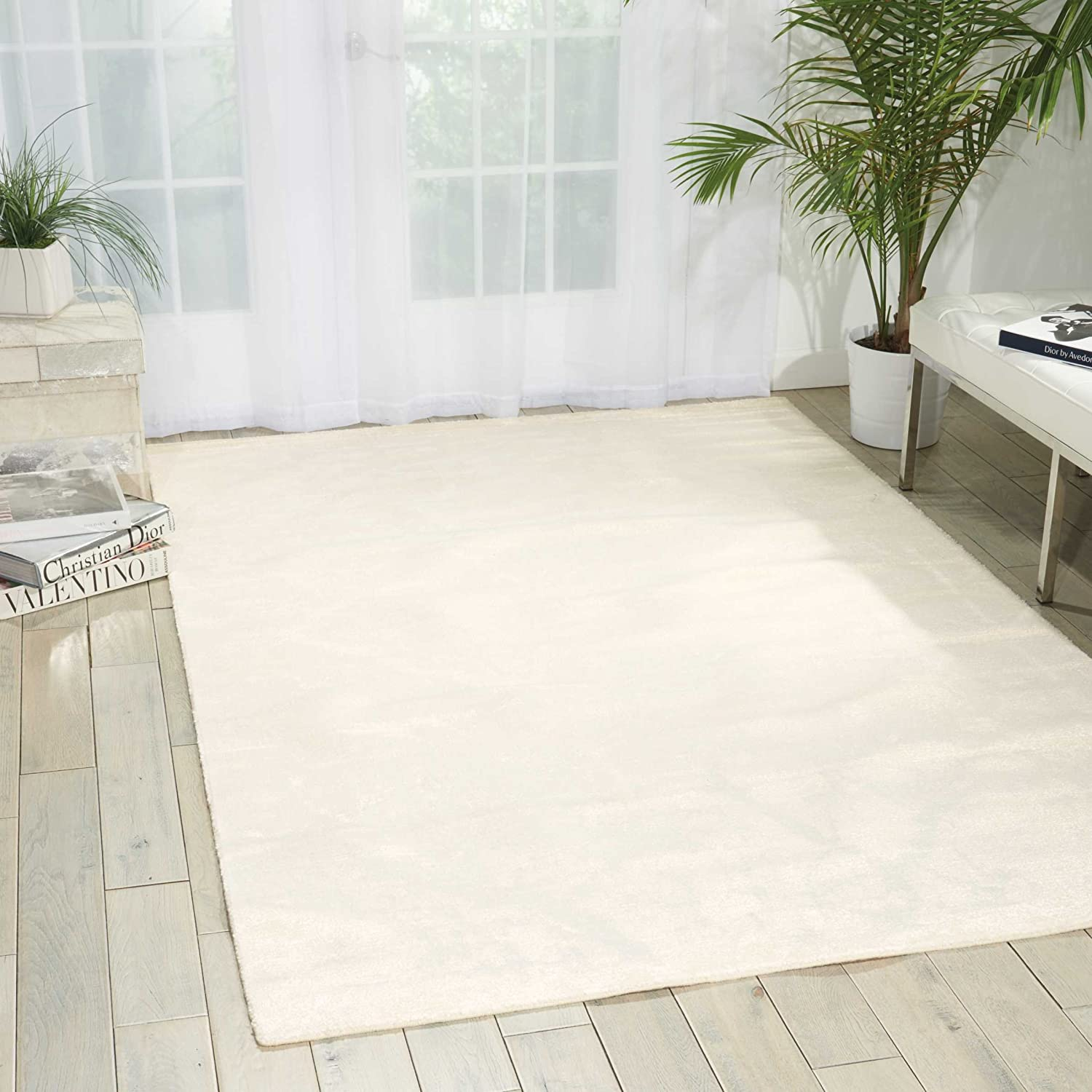 Nourison Twilight Ivory Rectangle Area 6-Inches Special sale Max 51% OFF item 8-Feet by Rug 1