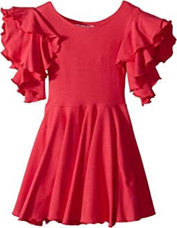 Amelia Stretch Fit & Flare Dress (Toddler/Little Kids)