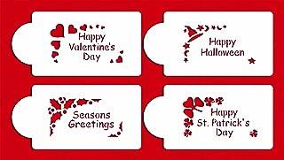 happy valentines day stencil