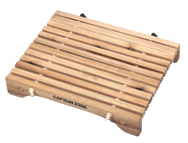 実際のすでにジャンクションキャプテンスタッグ(CAPTAIN STAG) キャンプ バーベキュー用 机 テーブル CSクラシックス コンパクトロールテーブル 31×21cm
